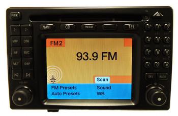 MERCEDES-BENZ COMMAND Navigation GPS Head Unit Radio CD Player OEM 2108205289 2001 2002 2003 E320 E430 E55