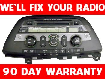 REPAIR 05 06 07 08 09 10 11 Honda Odyssey Radio and 6 CD Player FIX YOUR RADIO