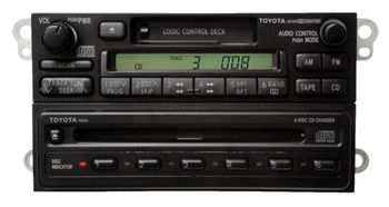 90 91 92 93 94 95 96 97 98 99 Toyota Celica 4Runner Camry Radio Tape 6 Disc CD Player A51707 1990 1991 1992 1993 1994 1995 1996 1997 1998 1999
