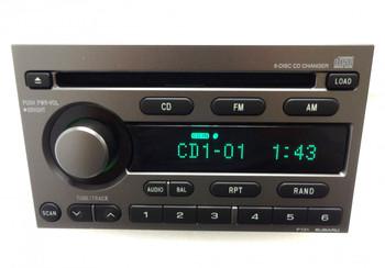 SUBARU Baja Legacy Forester Impreza SAAB 9-2X Radio Stereo 6 Disc Changer CD Player OEM P131