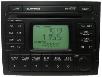 2004 - 2006 Pontiac GTO BLAUPUNKT Radio 6 Disc CD Changer Stereo OEM
