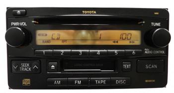 03 04 05 06 07 08 09 10 11 TOYOTA 4Runner Celica Highlander Radio CD Cassette Tape Player OEM 16852