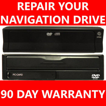 REPAIR YOUR UNIT! Acura MDX TSX TL RL Navigation DVD Drive GPS 03 04 05 06 07 08 09 2003 2004 2005 2006 2007 2008 2009