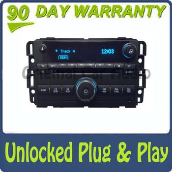 Unlocked Chevrolet Radio CD Player AUX Stereo Receiver OEM