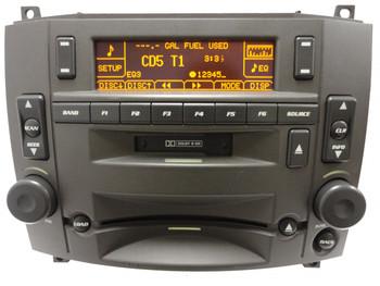 Cadillac Radio Stereo 6 CD Changer Cassette Tape Player OEM