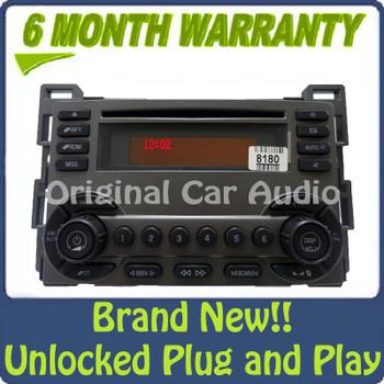 Pontiac Radio XM Satellite Radio CD Disc Player Stereo AUX