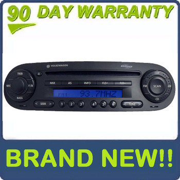 NEW 1998 - 2010 VW Volkswagen Beetle Bug MONSOON Radio MP3 CD Player
