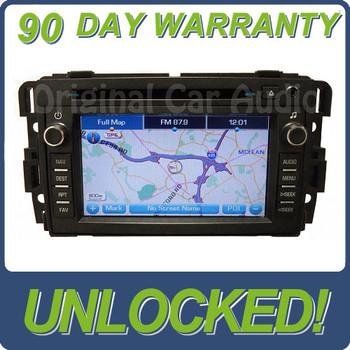 Unlocked Buick Navigation GPS Display Radio Stereo Receiver