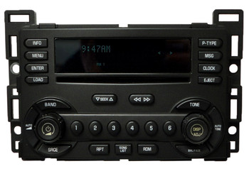 Chevrolet Chevy Radio 6 Disc CD Changer Stereo Receiver OEM