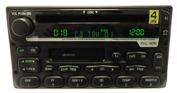 NEW FORD Mach Premium Sound System Radio Tape Cassette CD Player Explorer Mercury Mountaineer Ranger Excursion Expedition 1998 1999 2000 2001 2002 2003 2004 2005