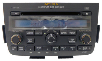 05 06 Acura MDX 1XF8 BOSE Radio 6 Disc CD Changer XM Satellite Radio 2005 2006