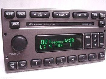 ford pioneer premium 6 cd changer audiophile radio stereo yl2f-18c815-ff  1998 - 2012