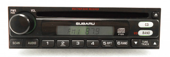 SUBARU Factory(OEM) Radio and CD Player Stereo Weatherband Legacy Forester Impreza OUTBACK 86201AE28A P125 1997 1998 1999 2000 2001 2002 2003