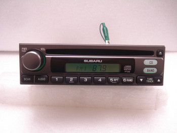 SUBARU Factory(OEM) Radio and CD Player Stereo Legacy Forester Impreza OUTBACK P132 86201AE41A 1997 1998 1999 2000 2001 2002 2003