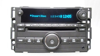 GMC Chevrolet Chevy HHR Radio Receiver MP3 6 CD Player