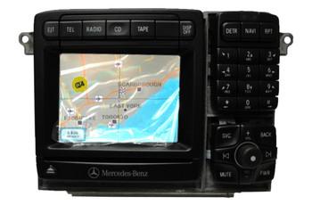 NEW MERCEDES-BENZ S CL Class Command Navigation Radio CD Player Bosch 2000 2001 2002 2003