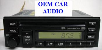 01 02 03 04 05 KIA RIO Sedona Sportage Spectra Radio Stereo CD Player Receiver 2000 2001 2002 2003 2004 2005