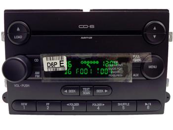 NEW 2006 2007 Ford F150 F-150 Pickup AM/FM 6 Disc Changer MP3 CD Player 7L3T-18C815-LA