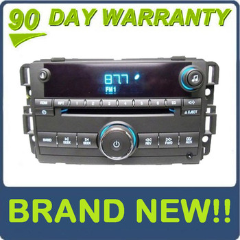 New Chevy OEM Radio AUX MP3 Single CD Player Chevrolet Stereo