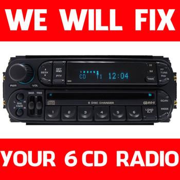 Repair Dodge Jeep Chrysler Dakota Durango Radio 6 Disc CD Changer