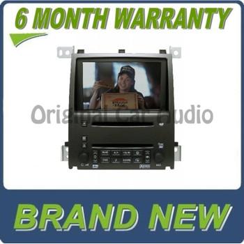 Cadillac STS DVD Navigation 6 CD Player FM AM Monitor