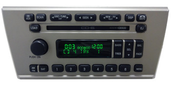 06 Lincoln LS Radio 6 DISC CD Player 6W4T-18C815-AA Fo181 2006