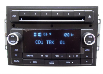 06 07 08 09 10 LINCOLN Navigator MKX MKZ Zephyr Navigator Radio AUX 6 Disc CD Changer
