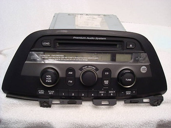05 06 07 Honda ODYSSEY Radio 6 Disc CD Changer Player Stereo 1PU0 39100-SHJ-A200