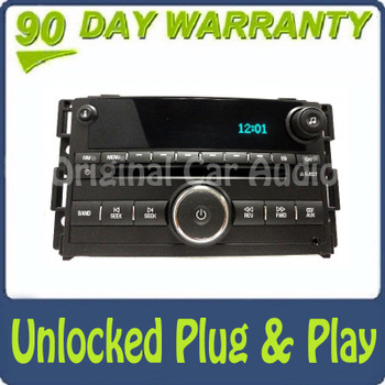 Unlocked Buick Radio Stereo Receiver MP3 CD Player OEM