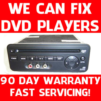 04-11 REPAIR ONLY Nissan Infiniti DVD Player Entertainment System Quest Armada Pathfinder QX56 FX45 FX35 28184 7S110 28184 ZC30A 28184 7S000