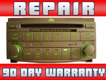 REPAIR ONLY Toyota Avalon Radio 6 Disc CD Changer 2005 2006 2007 2008 2009 2010 2011 86120-AC140, 86120-07071, 86120-07060, 86120-AC150