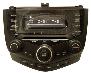 NEW HONDA Accord AM FM XM Satellite Radio 6 Disc Changer CD Player 7BY1 2004 2005 2006 2007