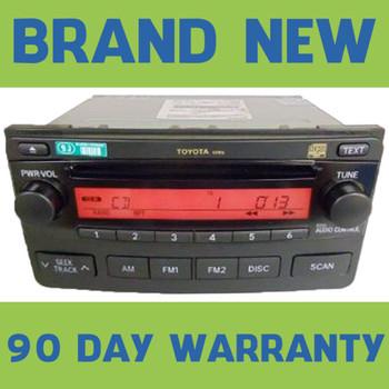 2004 2005 2006 2007 2008 Toyota Matrix Radio CD Player Stereo OEM Factory 86120-02400 A51816
