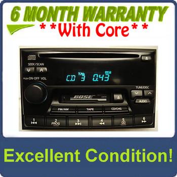 1995 - 2002 Nissan Maxima Pathfinder Infiniti I30 QX4 G20 J30 Radio Tape CD Player