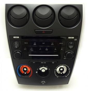 2006 2007 2008 MAZDA 6 AM FM Radio CD Player Manual Climate AC Heat Temp Controls OEM GP7C66DSX GP7A66DSX GP7A66AR0 6M81-18C858-AB