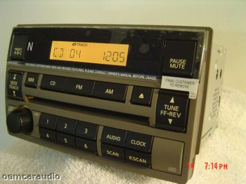 2005 2006 NISSAN Altima Radio Stereo Receiver CD Player Factory OEM AM FM TAN 28185 ZB10C