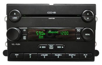 2006 - 2013 FORD Edge Radio 6 CD Player Changer 7T4T-18C815-JA