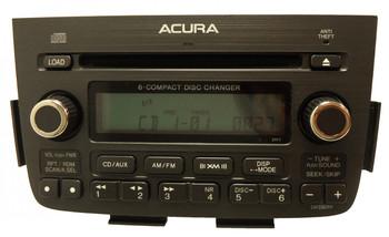 ACURA MDX XM Satellite Radio 6 Disc Changer CD Player 3TF7 39100-S3V-A250 39100-S3V-A260 2005 2006