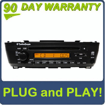 00 01 02 03 04 REPAIR FIX Toyota Avalon JBL Radio 6 Disc