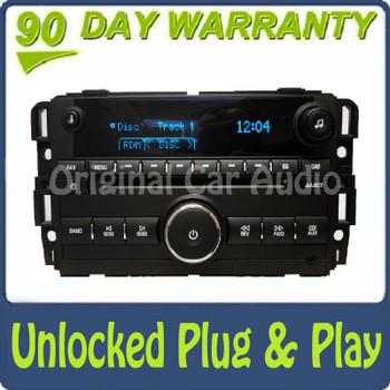 New UNLOCKED 10 12 Chevy Tahoe GMC Sierra Yukon Radio CD Player
