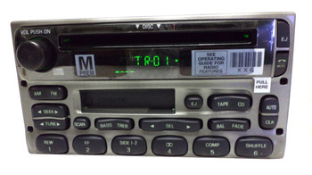 1998 1999 2000 2001 2002 2003 2004 2005 FORD MERCURY MAZDA Radio Tape CD Player New Face Silver