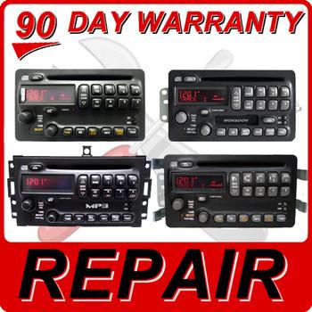 00 - 05 Pontiac Grand Am Prix Vibe Matrix CD Player Repair