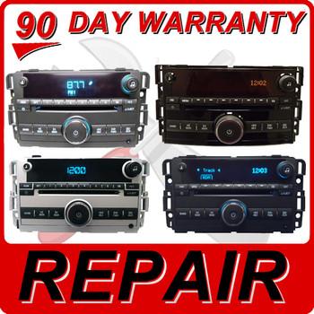 REPAIR 07 - 12 GMC Acadia Chevy Malibu Single CD Player FIX