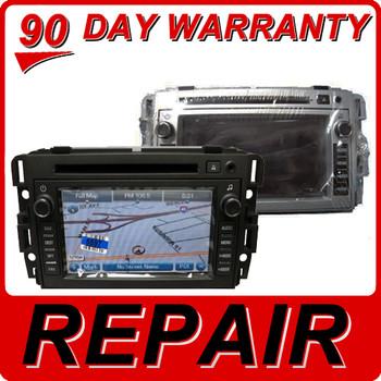 REPAIR Service 2007 2008 2009 2010 2011 2012 GMC OEM Sierra Chevy Equinox Navigation DVD Repair