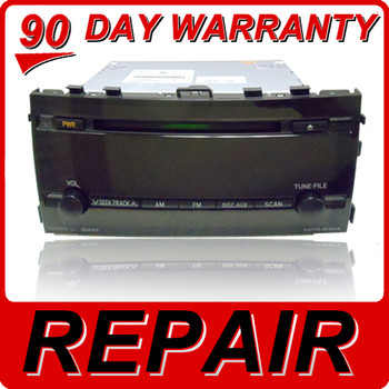 REPAIR SERVICE to Fix TOYOTA Prius Radio Single CD Player