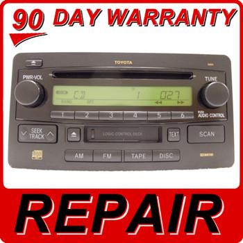 Repair Service Toyota Tundra Sequoia JBL Radio CD Player OEM