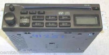 02 03 04 05 06 Hyundai Sonata Sante Fe Accent Radio CD Disc Player