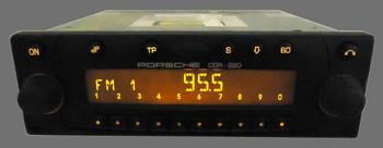 1999 2000 2001 2002 PORSCHE Boxter 911 CDR-220 Radio CD Player 996.645.126.00
