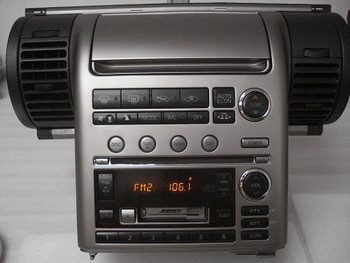 2003 2004 Infiniti G35 G 35 Bose Radio CD Player 6 Disc 28188-AM860