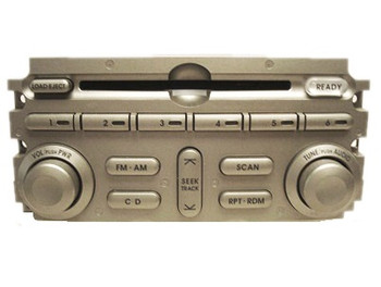 04 05 Mitsubishi ENDEAVOR GALANT Radio 6 Disc CD Changer INFINITY MR570499
